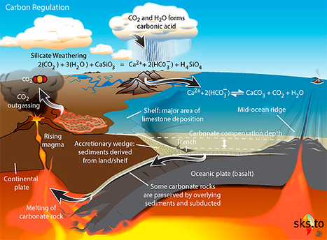 Understanding the long-term carbon-cycle: weathering of rocks - a vitally important carbon-sink | Sustain Our Earth | Scoop.it