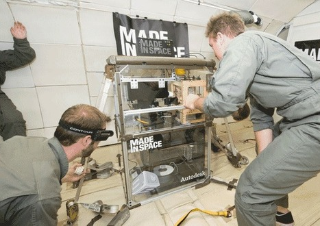 Made in Space 3-D Printing Project Selected for Phase II SBIR Award | Parabolic Arc | The NewSpace Daily | Scoop.it