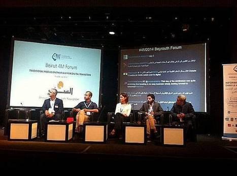 Beyrouth a accueilli 200 journalistes du monde arabe pour repenser la profession | Les médias face à leur destin | Scoop.it