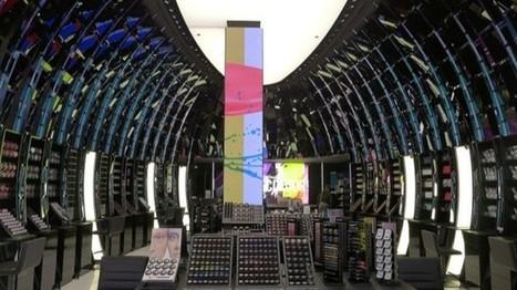 La tour digitale du flagship store M.A.C sur les Champs-Elysées | Beauté cosmétologie | Scoop.it
