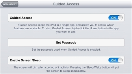 Guided Access: iOS 6 Accessibility Feature Can Support Learning | Learning, Teaching & Leading Today | Scoop.it