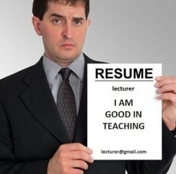 Resume Tips for Lecturer Positions | MoreVisas | MoreVisas Immigration and Visa Services | Scoop.it