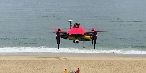 Sauvetage en mer : après le drone, bientôt des bouées communicantes ? | Drone | Scoop.it