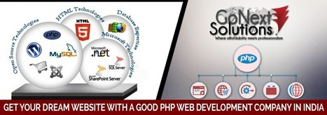 Get Your Dream Website With a Good PHP web Development Company in India | Web Design, Website Development & Digital Marketing Company | Scoop.it