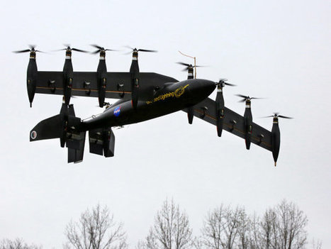 NASA's 10-engine electric UAV now flies as well as it hovers | Heron | Scoop.it
