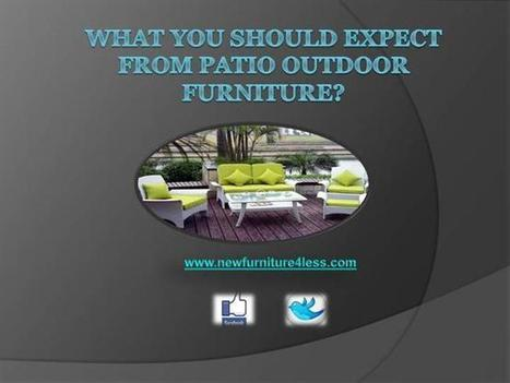 What You Should Expect from Patio Outdoor Furniture Ppt Presentati.. | Newfurniure4less | Scoop.it