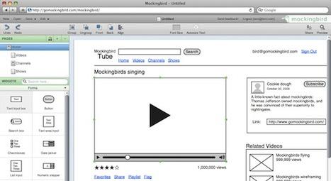 Website wireframes: Mockingbird | Outils & Logiciels wireframing | Scoop.it