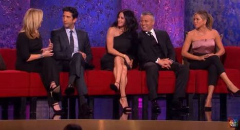 First Promo Of 'Friends' Reunion | FizX | Funny humor | Scoop.it