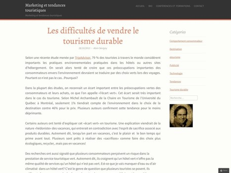 Les difficultés de vendre le tourisme durable | Pour les EPE | Scoop.it