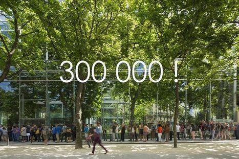 Fondation Cartier pour l'art contemporain   Facebook 300 000 amis   Clic France   Scoop.it