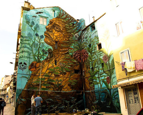 Street art in Lisbon, Portugal | Art-Arte-Cultura | Scoop.it