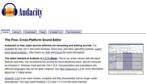 Audacity: Free Audio Editor and Recorder | Apps indispensables | Scoop.it