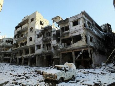 "Jan24: ""Forces loyal to President Bashar al-Assad have stormed a small farming village in central Syria 