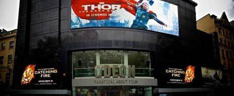 Giant 107 square metre videowall launched at Odeon Leicester Square | Digital Signage communication | Scoop.it