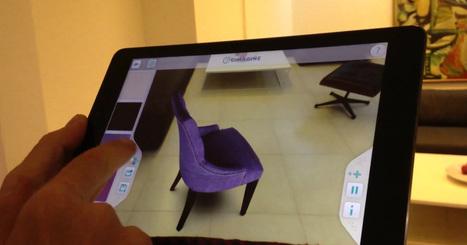 Une application permet d'essayer des meubles en réalité augmentée sans aucun marqueur - HelloBiz | Evolution des usages par les nouvelles technologies | Scoop.it