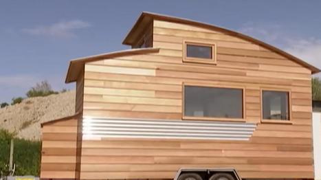 Tiny House: le succès de ces petites maisons en bois transportables (+vidéo) | Immobilier | Scoop.it