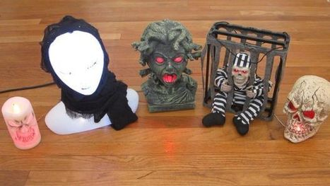 Control Your Halloween Decorations With Arduino | Raspberry pi | Scoop.it