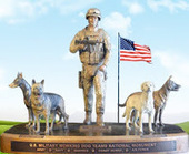 Bunny's Blog: National Military Working Dog Memorial Honors Four-legged Soldiers | Pet News | Scoop.it