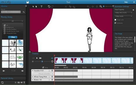 Moovly: utilidad web para crear presentaciones y vídeos de animación | desdeelpasillo | Scoop.it