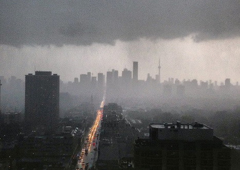 Massive rain storm hits Toronto causing flooding and power outages | BlogTO.com | Personal Branding and Professional networks | Scoop.it