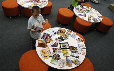 School district program puts books in students' hands - Herald & Review | School Library Advocacy | Scoop.it