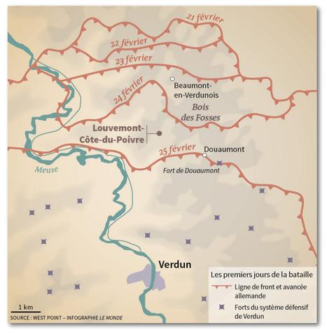Verdun, il y a cent ans : «C'était une boucherie inouïe»   ClioTweets   Scoop.it