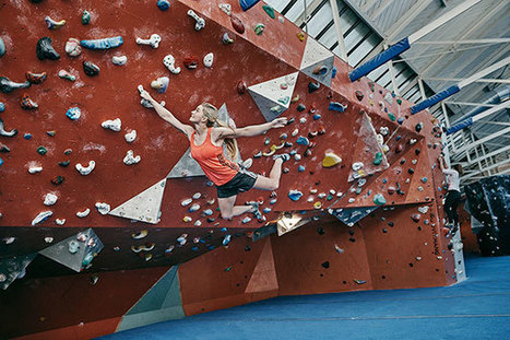 Bouldering Masterclass with Shauna Coxsey | Rock Climbing & Mountaineering | Scoop.it
