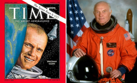 The first American to orbit the Earth turns 95 years old #astronaut | Limitless learning Universe | Scoop.it