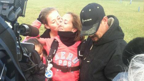 Illinois Woman With ALS Gets Skydiving Wish | #ALS AWARENESS #LouGehrigsDisease #PARKINSONS | Scoop.it