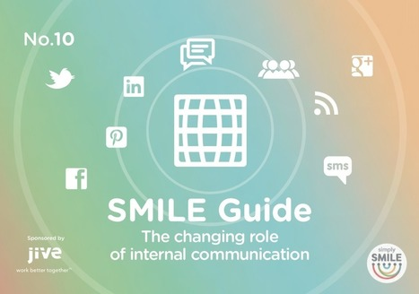 The Changing Role of Internal Comms   simply communicate   Internal Communications Tools   Scoop.it