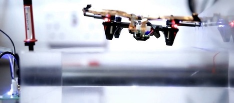 Drone Flies 12 cm on Wireless Power | Robots and Robotics | Scoop.it