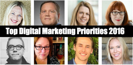 Digital Marketing Priorities - Top Brands Share 2016 Strategies | Designing  service | Scoop.it