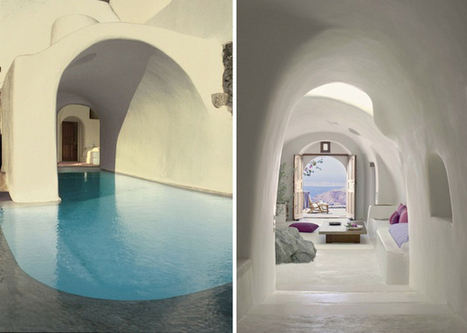 Бутиков хотел върху вулканична скала | Do u like interior design? | Scoop.it
