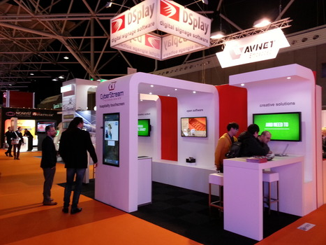 One more successful presence of CyberStream and DSplay at an International Exhibition, this time @ ISE 2015, in Amsterdam!   DSplay - Interactive Digital Signage   Scoop.it