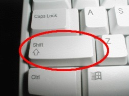 5. Touche Majuscule ou touche Shift de Windows XP? | Cours Informatique | Scoop.it