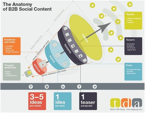 140630-anatomy-b2b-social-content.jpg (1200x934 pixels) | Best looking infographics | Scoop.it