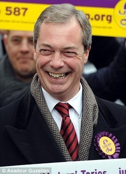 Nigel Farage COULD do a deal with the Tories (but only if they sack Cameron) | Nationalist Media Network | Scoop.it