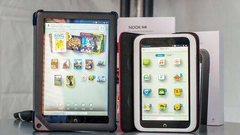 Nooks Just Turned Into Real Android Tablets - Gizmodo | Digital Dexterity | Scoop.it