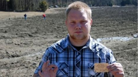 Louisiana man unearths 2.89 carat white diamond at Arkansas state park   Xposed   Scoop.it
