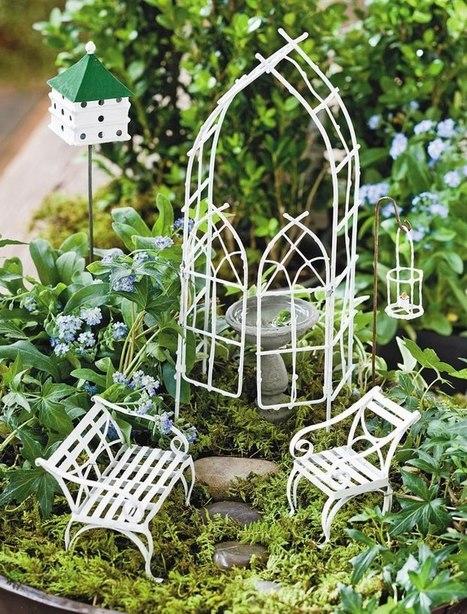 Magical Miniature & Fairy Garden Tour with Arlena Schott and Jeremie Miniatures | Facebook | Annie Haven | Haven Brand | Scoop.it