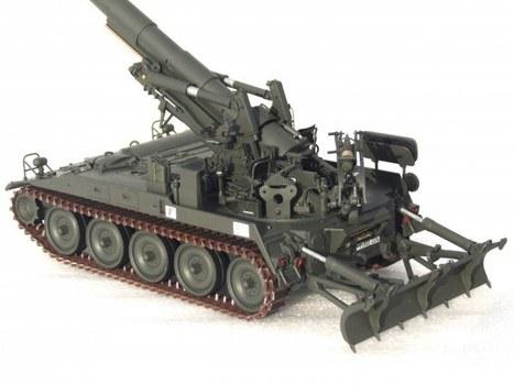 Feldkanone (SFL) M107 | Military Miniatures H.Q. | Scoop.it
