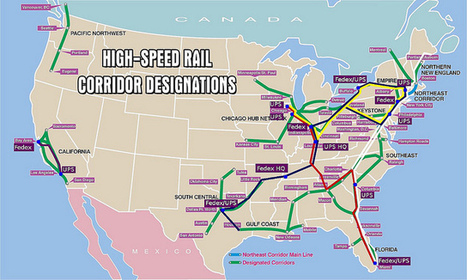 Why a High Speed Rail Network Would Supercharge the Emerging Maker Economy | Creativity on GOOD | Passenger Rail Resurgence in the U.S. | Scoop.it