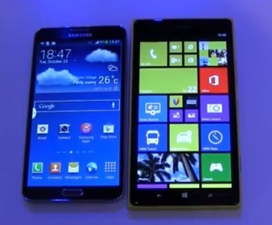 Phablet War: Nokia Lumia 1520 vs Samsung Galaxy Note | Nokia, Symbian and WP 8 | Scoop.it