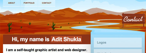 40 Websites With Excellent and Inspiring Illustrated Headers | #Apps #Softwares & #Gadgets | Scoop.it