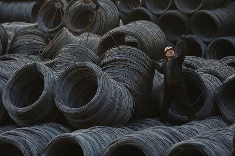 Le trop-plein d'acier chinois inquiète le monde   Forge - Fonderie   Scoop.it