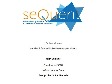 guidelines - SEQUENT | Quality assurance of eLearning | Scoop.it