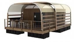 Nos modèles de maisons sur l'eau - Aquashell | maisons bois | Scoop.it