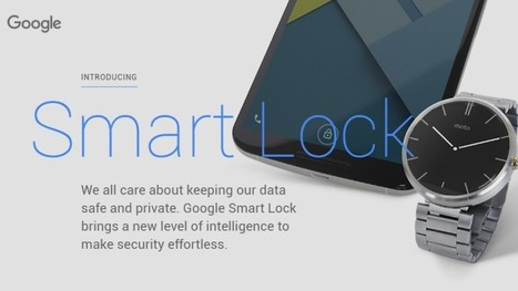 Stop Turning Off Your Lock Screen, Use Android Smart Lock Instead | Tools You Can Use | Scoop.it