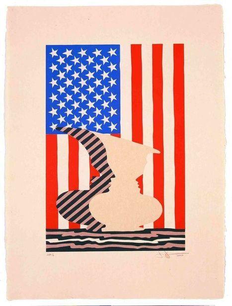 Katonah Museum celebrates 30 years Printmaking of Jasper Johns & John Lund   Jasper Johns   Scoop.it