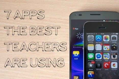 7 Apps the Best Teachers Are Using | English and TICs | Scoop.it